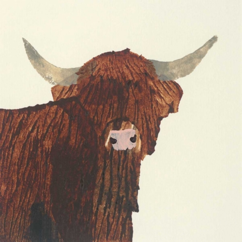 Highland Cow - Burns, Julia 포스터