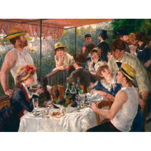 Luncheon of the Boating Party 풍경 그림 포스터