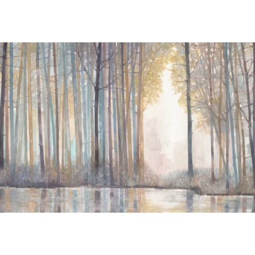Forest Reflections  자연 그림 포스터