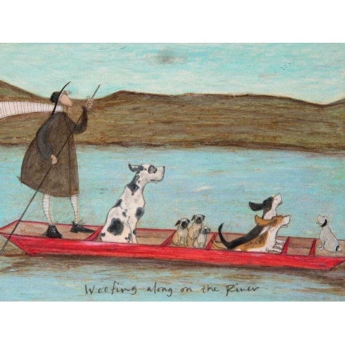 Woofing along on the River - Toft, Sam 포스터