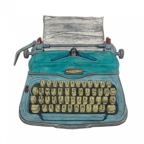 Typewriter - Goodman, Barry 포스터