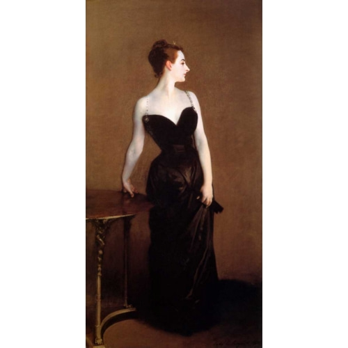 Madame Pierre Gautreau - Madame X 인물 그림 포스터