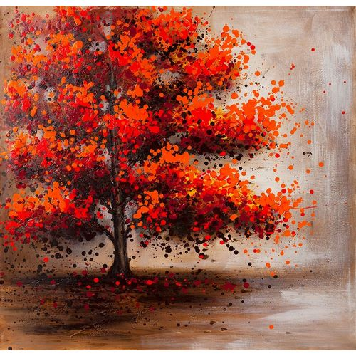 Atelier B Art Studio의 TREE WITH DOTTED LEAVES