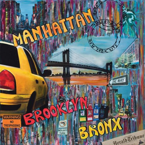 Wozniak, Sophie의 Manhattan Brooklyn