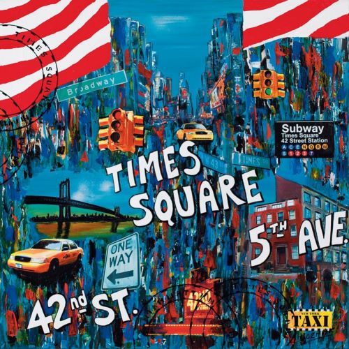 Wozniak, Sophie의 Times Square 5th avenue